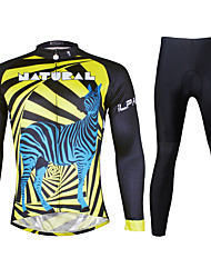 Ilpaladin Sport Men Long Sleeve Cycling Jerseys Suit CT725