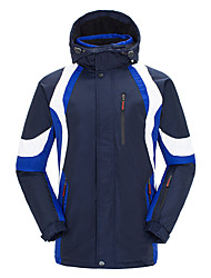 Ski Wear Ski/Snowboard Jackets Men's Winter Wear 100% Polyester Winter ClothingWaterproof / Breathable / Thermal / Warm / Windproof /