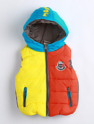 Boy Casual/Daily Color Block Vest,Cotton Winter / Fall Sleeveless