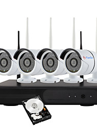 YanSe® 1.3 Megapixel H.264 1TB 4CH Wireless NVR Kit 960P WiFi IR IP Camera Waterproof Security CCTV System