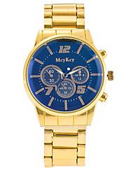 XU Men Fashion High-end Golden Strip Watch