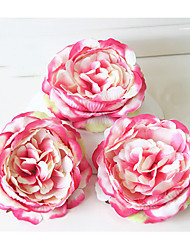 Hat headdress flower slippers DIY simulation silk flower peony flower