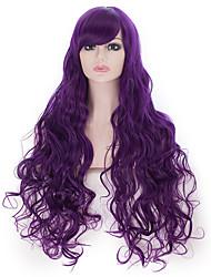 24women longos cabelos crespos black friday desconto natal festival peruca perucas de cabelo sintético