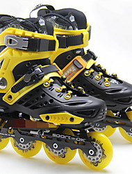 Inline Skates Women's Breathable Outdoor PVC Leather Skate