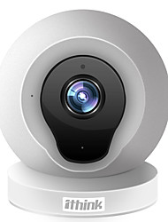 1.0 MP Mini Interior with Dia Noite / Infravermelho 64GB (32GB enough)(Dia Noite / Detector de Movimento / Dual Stream / Acesso Remoto /