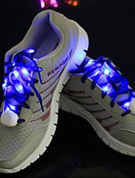 LED Light Up нейлон для шнурков носимых синий / желтый / зеленый / розовый / красный / белый / оранжевый