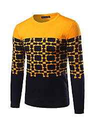 Men's Casual/Daily / Work Regular Pullover