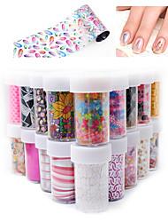 12pcs Nail Sticker Art Autocollant dentelle Maquillage cosmétique Nail Art Design