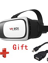 VR Box 2.0 3D Glasses Virtual Reality Google Cardboard Headset Goggles Glasses with OTG