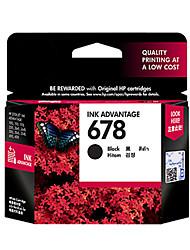 Black Original Genuine HP 678 Ink Cartridges CZ107A HP2515 3515 4648 Printer Ink Cartridges