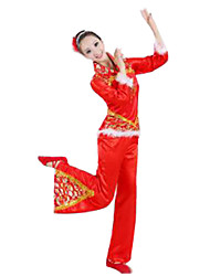 Party Costume Cosplay Festival/Holiday Halloween Costumes Red Solid Top / Pants Female