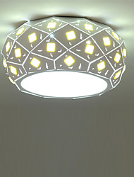 42cm Modern Style Simplicity Crystal LED Ceiling Lamp 24W Flush Mount Living Room Bedroom Kids Room light Fixture