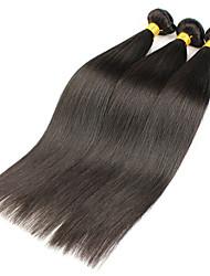 3 Pièces Droit (Straight) Tissages de cheveux humains Cheveux Brésiliens 300 g 8-30 inch Extensions de cheveux humains