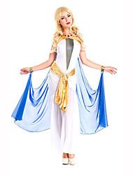 Fête / Célébration Déguisement Halloween Blanc / Bleu Imprimé RobeHalloween / Noël / Carnaval / Le Jour des enfants / Nouvel an / Fête