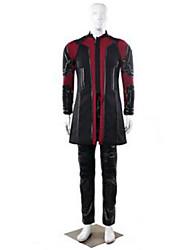 Costumes de Cosplay Cosplay Fête / Célébration Déguisement Halloween Noir Couleur Pleine Manteau / Pantalon / Plus d'accessoires Masculin