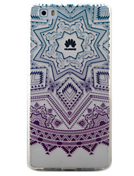 For Huawei Y5II Y6II Y625 Y635 5X P9 P8 Lite Case Cover Purple Campanula Pattern Painted TPU Material Phone Case