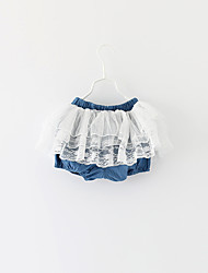 Girl Casual/Daily / Sports Solid Skirt-Cotton Winter / Fall
