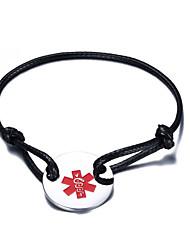 Men's Women's Bracelet Stainless Steel Nylon Steel Fashion Adjustable Personalized Jewelry 1pc