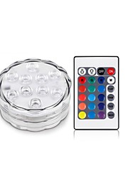 1Pcs Senza fili Others Rgb 10Led Smd5050 4.5v Remote Waterproof Vase Lamp Multicolore
