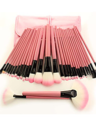 32pcsContour Brush / Makeup Brushes Set / Blush Brush / Eyeshadow Brush / Lip Brush / Brow Brush / Eyeliner Brush / Liquid Eyeliner Brush