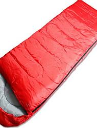 Schlafsack Rechteckiger Schlafsack Einzelbett(150 x 200 cm) 20 Polyester 1800g 210X80 Camping / ReisenFeuchtigkeitsundurchlässig /
