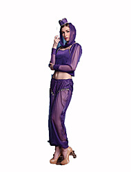 Indian Festival/Holiday Costumes Hat / Top / Pants / Shawl Female Polyester