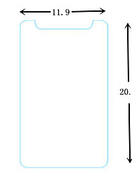 filme protetor de tela de vidro temperado universal 8 polegadas para tablet