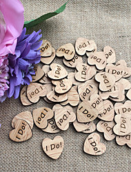 Wood Wedding Decorations-50Piece/Set Spring Non-personalized