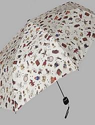 Branco Sapatos de Chuva Ensolarado e chuvoso Plastic Viagem