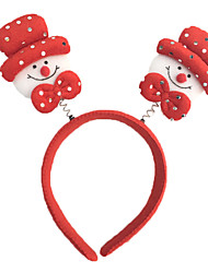 10pcs der neuen hellen Kopf Schnalle Silber hell Schnalle Schnalle Weihnachtsgeschenke Weihnachten Thema Requisiten Weihnachtsstirnband