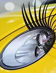 Car cil autocollant décoratif véhicule phare (paire)