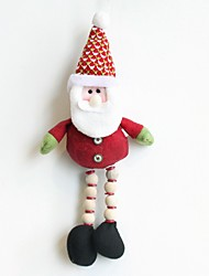decorações do Natal 2016 de Santa alces boneco de neve Noel boneca de natal decorações de casa engraçada da árvore pendurando enfeites