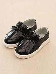 Girl's Loafers & Slip-Ons Comfort PVC Casual Black / Silver / Gold