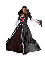 Fête / Célébration Déguisement Halloween Noir Couleur Pleine Jupe / Plus d'accessoires Halloween / Noël / Carnaval Féminin