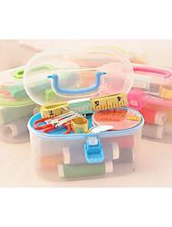 kit de herramienta esencial coser en el país / plástico al menos tres cosas a la venta