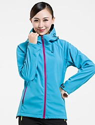 Women Outdoor Sports Soft Shell Fleece Jacket Hiking Cimbing Clothing Jackets Spring Autumn Jacket Waterproof Coat  Fashion Overcoat