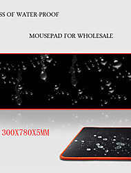 Waterproof thin surface mouse pad   300*780*5mm