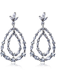 Water Cubic Zircon Sterling Silver Earrings For Women Earring Fashion Wedding Earring Jewelery