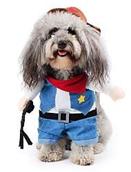 Dog Pet Cat 3D Clothes Halloween Cosplay Playing Costumes For Puppy Kitten Cool Apparel Clothes for Doggy Kitty