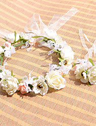 Bridal Decoration Garden City Styles 2pcs/Set (Headdress Flower+Wrist Flower)