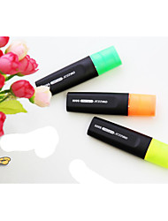 Three Color Fluorescent Marker Pen(3PCS)
