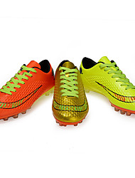 Soccer Shoes Kid's Anti-Slip / Anti-Shake/Damping / Wearproof / Breathable PUMesh Football Lace-up