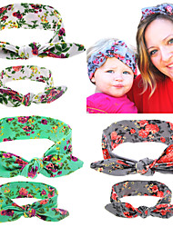 Cute Baby and Mother Paternity Style pointing Knot Headband Beautiful and Comfortable DIY Can Adjust Hair Accessories