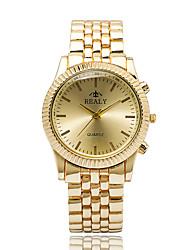 Women's Fashion Watch Wrist watch Casual Watch Quartz / Alloy Band Cool Casual Elegant Silver Gold Rose Gold Brand