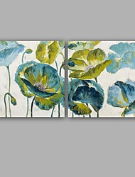 100%  Hand-Painted Abstract / Floral/Botanical Hang-Painted Oil PaintingModern / Classic One Panel Canvas Oil Painting For Home Decoration