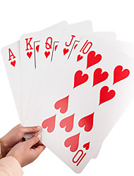 Custom Jumbo Paper Playing Cards with Art Paper