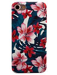 Pro iPhone 8 iPhone 8 Plus iPhone 7 iPhone 7 Plus iPhone 6 Pouzdra a obaly Vzor Zadní kryt Carcasă Květiny Pevné PC pro Apple iPhone 8