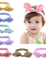 11 cores / definir melhor negócio 2,016 bebê lindo cabeça moda coelho orelha menina headwear arco headbands nó elásticas