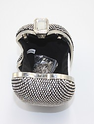 Women-Formal / Event/Party-Other Leather Type-Evening Bag-Gold / Silver / Black