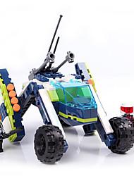 Bonecos & Pelúcias / Blocos de Construir para presente Blocos de Construir Modelo e Blocos de Construção Tanque ABS5 a 7 Anos / 8 a 13